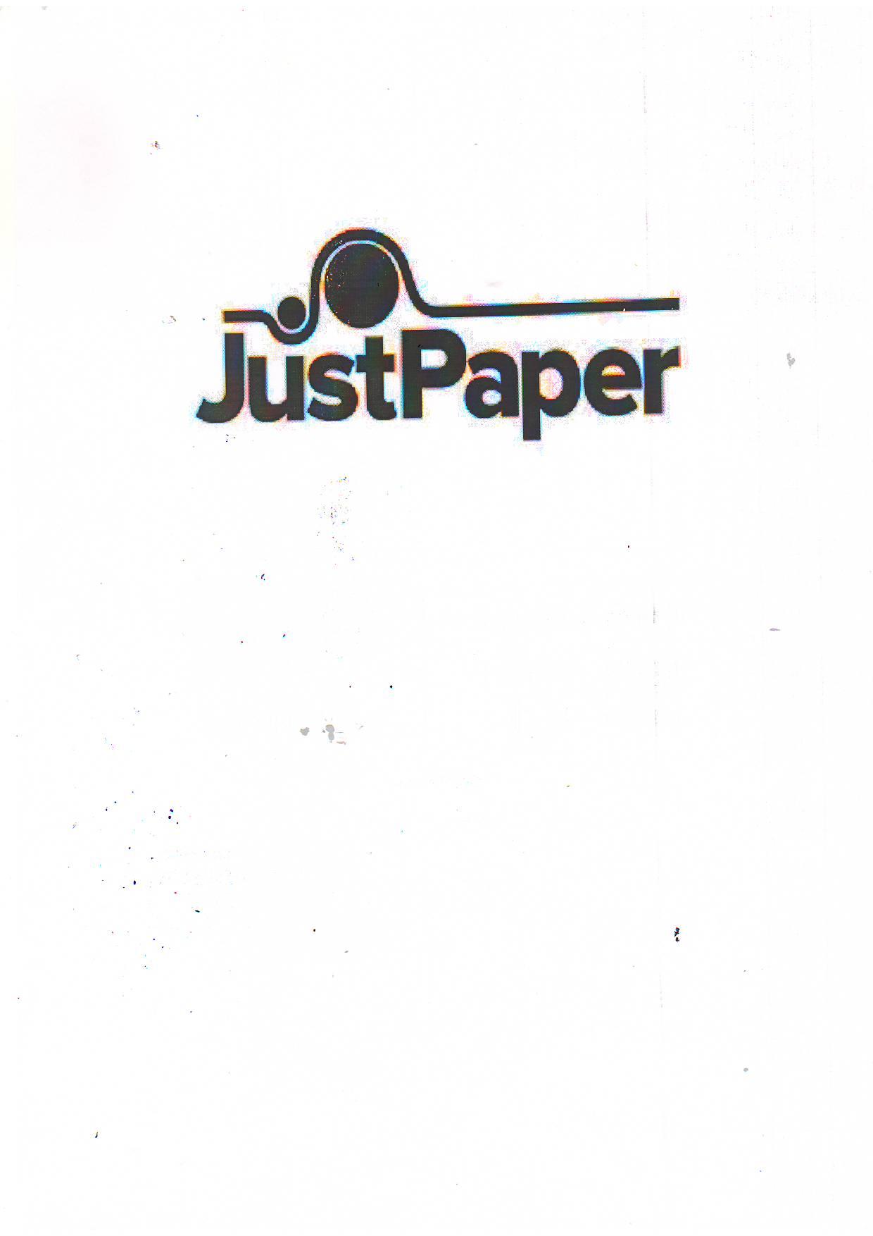 Just paper doo