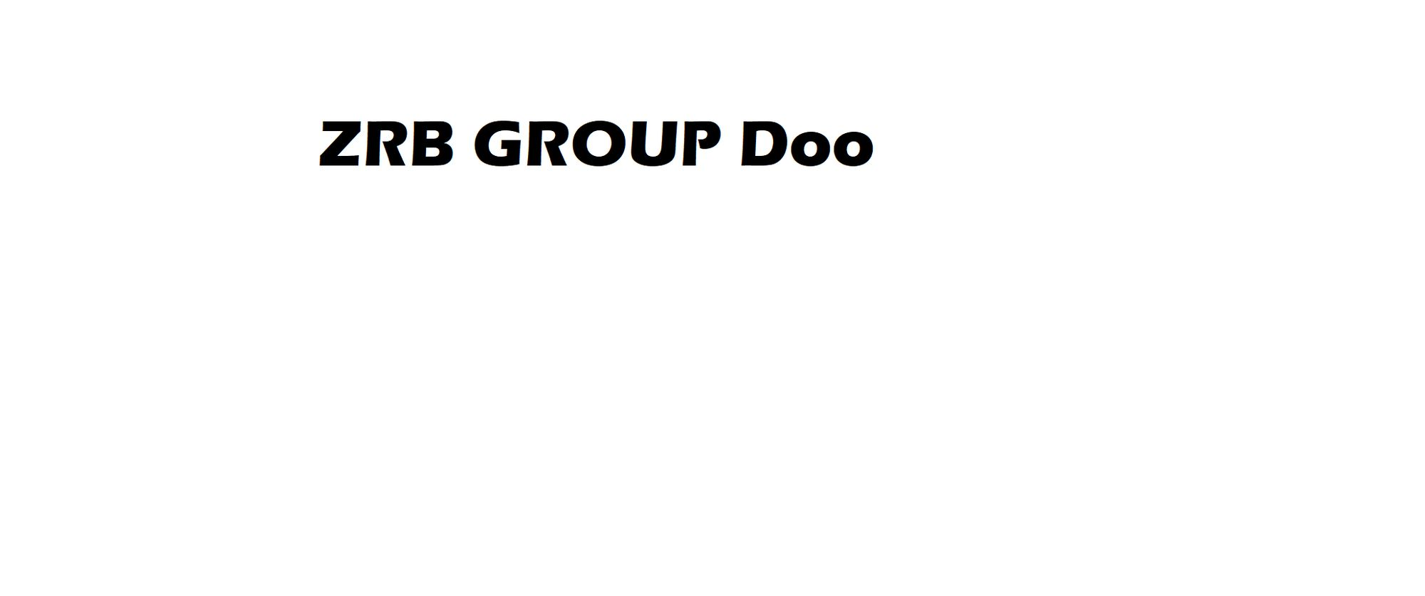 ZRB Group Doo