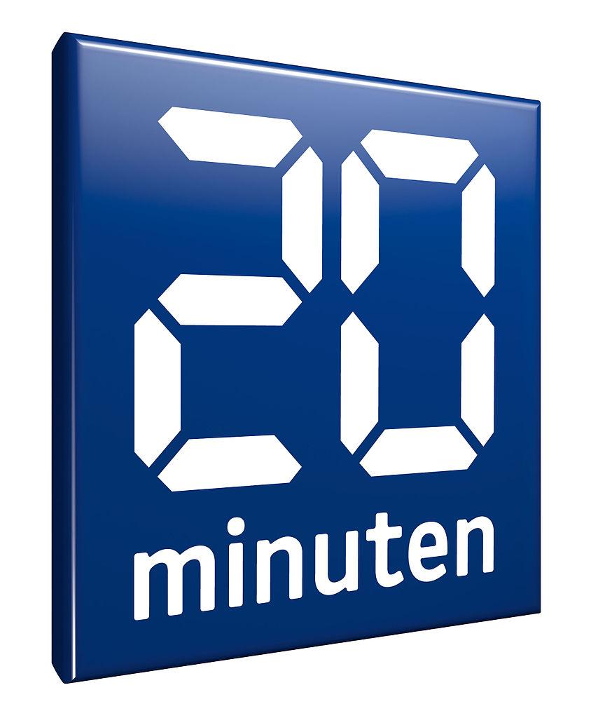 20 Minuten-logo