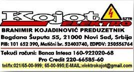 ELEKTRO KOJOT sztr Branimir Kojadinović preduzetnik