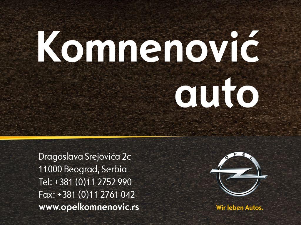 Komnenović auto